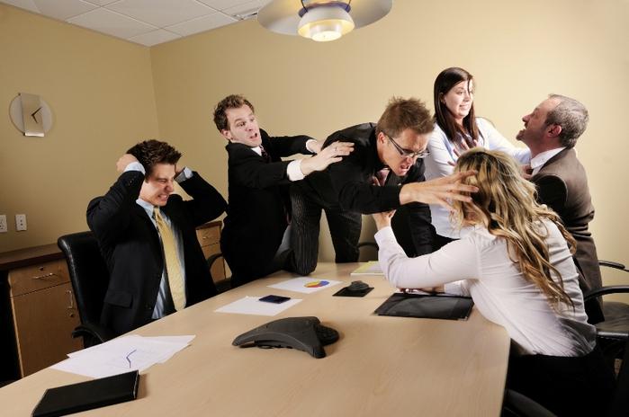 конфликты на работе: есть ли выход?